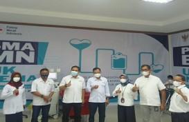 PT Semen Tonasa Dukung Gerakan Nasional Donor Plasma Konvalesen
