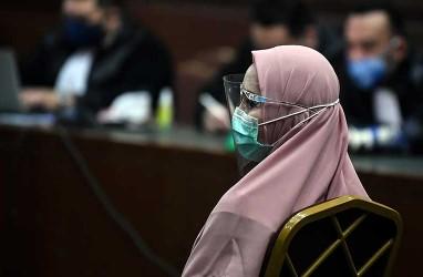 KASUS SUAP DJOKO TJANDRA : Pinangki Divonis 10 Tahun Penjara