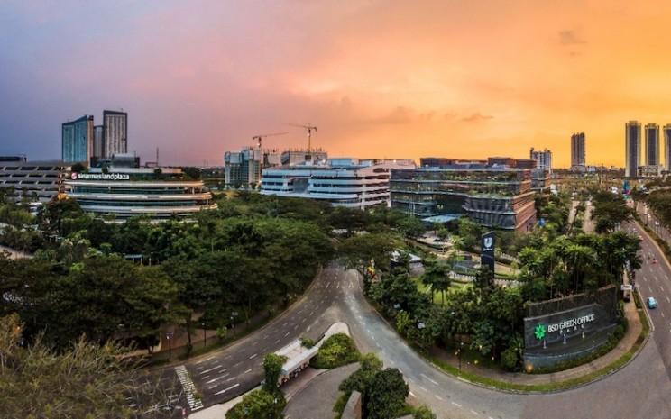 Kawasan Green Office Park BSD City. - JIBI/Istimewa