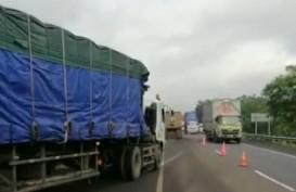 Tol Cipali KM 122.400 Jalur B Amblas, Polisi Berlakukan Contra Flow
