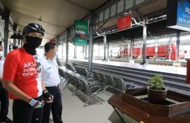 Banjir Surut, Stasiun Tawang Siap Berangkatkan Kereta