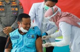 Vaksinasi di Daerah Kepulauan Sulsel Terkendala Cuaca Buruk