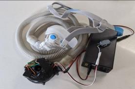 1 dari 3 Pasien Covid-19 yang Pakai Ventilator Alami…