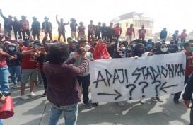 Supporter Tuntut Kejelasan Pembangunan Stadion Mattoanging Markas PSM