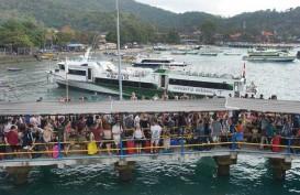 Lalu Lintas dan Jumlah Penumpang di Pelabuhan Padangbai Anjlok Selama 2020
