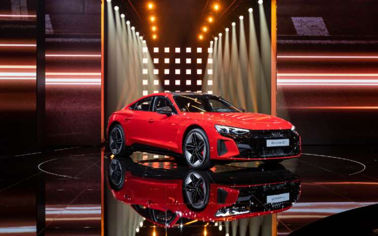World premiere of the Audi e-tron GT: Celebration of Progress, Rabu (9/2/2021).  - AUDI AG