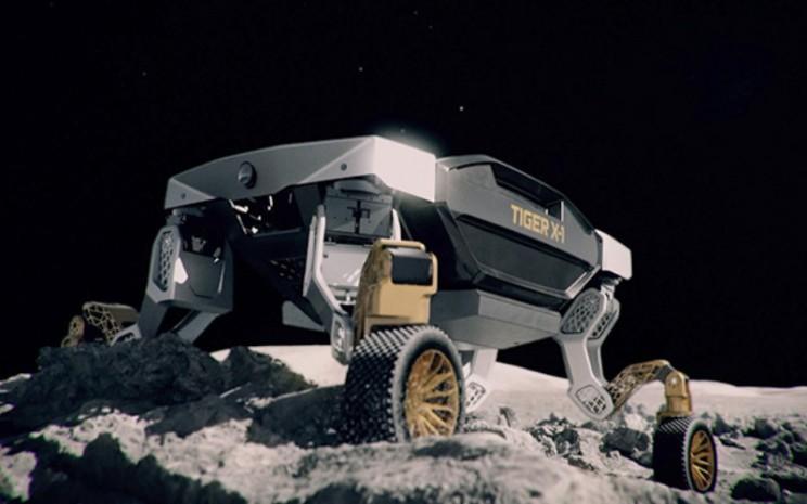Penjelajah Bulan. TIGER, Transforming Intelligent Ground Excursion Robot.  - Hyundai