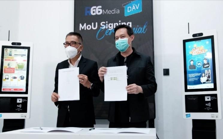 Kerja sama DAV dan R66 Media