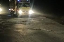 Jateng Anggarkan Rp1 Miliar Perbaiki Jalan Rusak Akibat Hujan