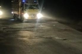 Jateng Anggarkan Rp1 Miliar Perbaiki Jalan Rusak Akibat…