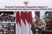 Tak Hanya Perintahkan 3M, Jokowi Minta Pemda Juga Bagikan Masker