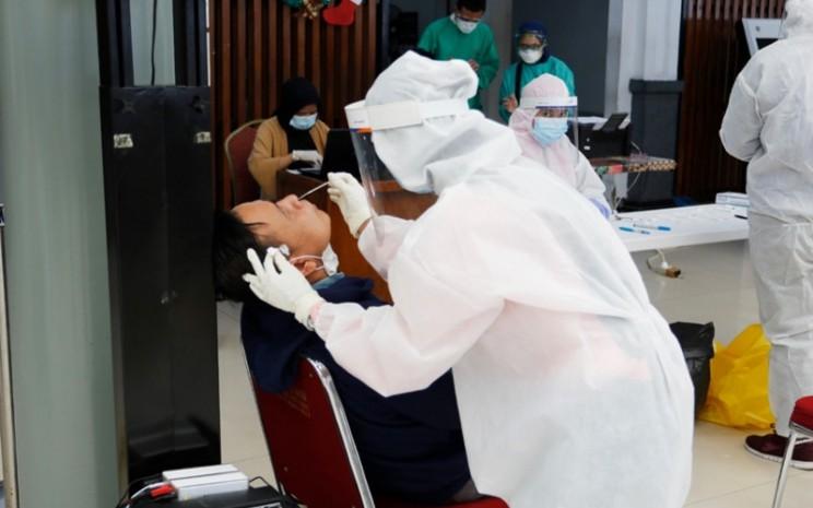 Tes Antigen bertarif Rp105.000 dapat dilakukan di 29 stasiun kereta api.  - KAI