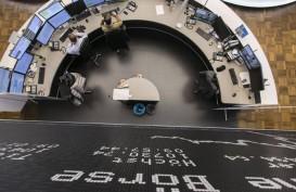 Bursa Eropa Kompak Turun, Bitcoin Tembus Rekor