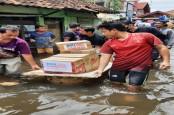 Banjir Pantura, BRI Bangun Posko Bencana dan Salurkan Sembako untuk Korban Banjir