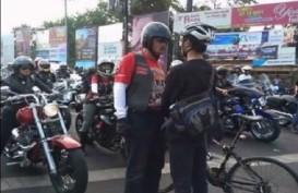 Konvoi Moge di Bogor 'Nylonong' Lewati Ganjil Genap, Ternyata Dikawal Polisi