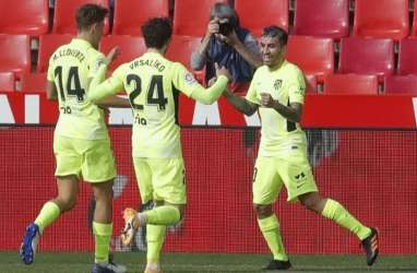 Hajar Granada, Atletico Madrid Makin Mantap Pimpin La Liga Spanyol