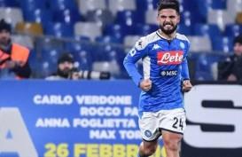 Hasil Lengkap Liga Italia, Penalti Insigne Bawa Napoli Gasak Juventus