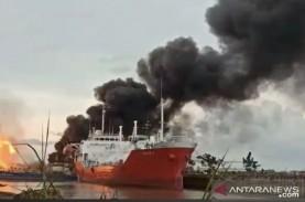 Kapal Tongkang Meledak di Samarinda, Polisi Beberkan…