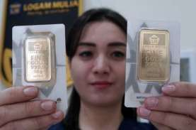 Harga Emas 24 Karat Antam Hari Ini, Senin 15 Februari…