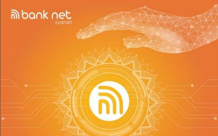 Halaman muka Laporan Tahunan Bank Net Syariah 2019.