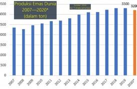Produksi Emas Dunia Tahun Lalu 3.200 Ton, Indonesia 'Nyetor' Berapa?