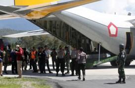 Jenazah Prada Ginanjar Korban Penembakan KKB dibawa ke Timika