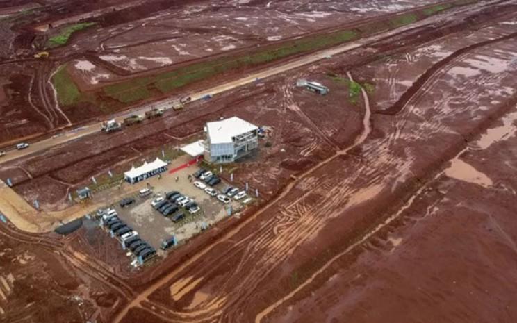 Kawasan Industri Terpadu Batang di Ketanggan, Kabupaten Batang, Jawa Tengah./Antara - Harviyan Perdana Putra