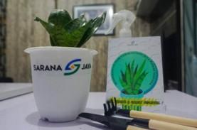 Sarana Jaya Bagikan 2021 Tanaman Penyerap Polusi
