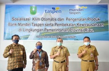 Bank Mantap dan Taspen Sosialisasikan Program Bagi Pensiunan PNS Riau
