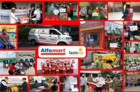 Alfamart Salurkan Donasi Konsumen Gandeng Lazismu