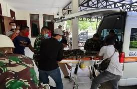 Korban Baku Tembak di Intan Jaya Dievakuasi ke Jakarta