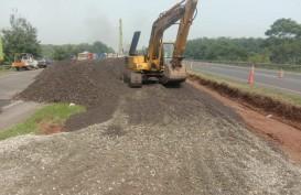 Pembuatan Jalan Sementara di Tol Cipali KM 122 Masuki Tahap Konstruksi