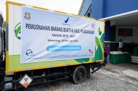 BPOM Semarang Musnahkan Produk Obat dan Kosmetik Ilegal…