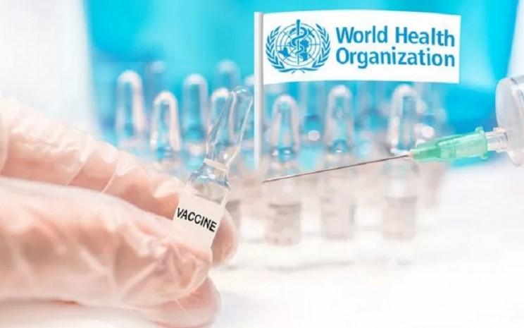 WHO menginisiasi program vaksin global. Indonesia telah menyuntik vaksin virus corona ke tenaga medis dan lansia. - Antara
