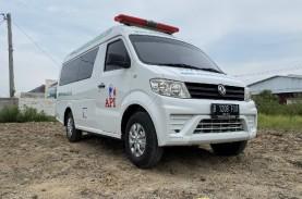 Viral Ambulans Pasien Covid-19 Dihalangi Pengendara