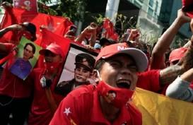 Demo di Myanmar Berlanjut, Militer Diam-Diam Adili Suu Kyi