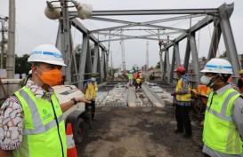 Pembenahan Jembatan Rembun Ditarget Rampung Akhir Februari