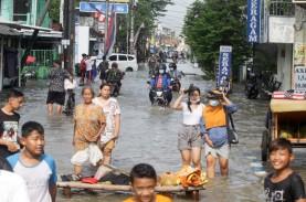 Ada 11 Titik Banjir Sidoarjo, Pemda Sediakan Tempat…