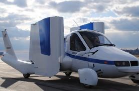 Wow! Mobil Terbang Terrafugia Boleh Lepas Landas di…