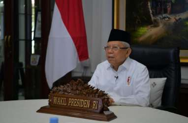 Wapres Ma'ruf Amin Resmikan Pusat Kewirausahaan bagi Eks Pemulung dan Tunawisma