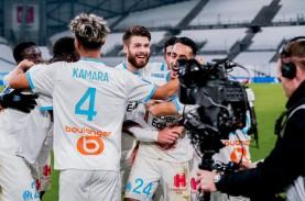 Hasil Liga Prancis : Marseille Akhiri Puasa Kemenangan,…