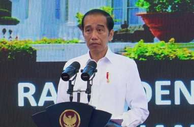 Pj Gubernur Kalsel Curhat ke Jokowi: Banyak Infrastruktur Hancur karena Banjir