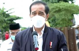 Resmikan Bendungan Tapin, Jokowi: Dibangun 5 Tahun & Biaya Hampir Rp1 Triliun