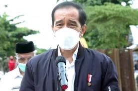 Resmikan Bendungan Tapin, Jokowi: Dibangun 5 Tahun…