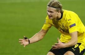 Striker Dortmund Haaland Cetak 2 Gol di Sevilla, Ada Peran Mbappe