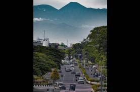 Heboh! Gunung Gede Pangrango Terlihat dari Kemayoran,…
