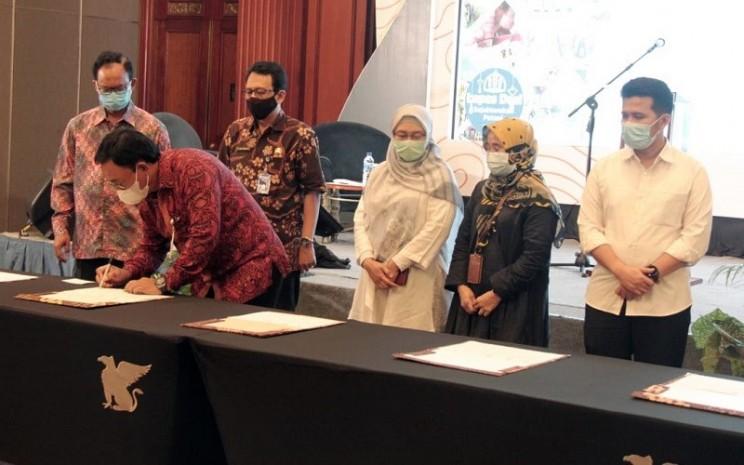 Workshop percepatan pengelolaan kartu tani di Wilayah Jawa Timur 2021 -  Dok. BNI