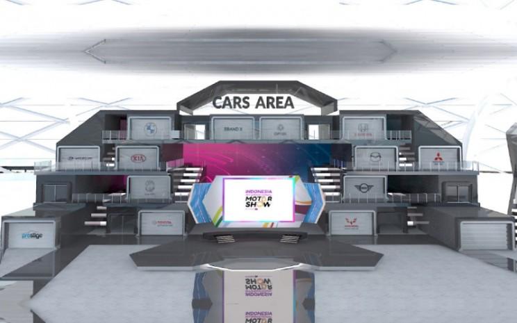 IIMS 2021 menghadirkan sejumlah agen pemegang merek (APM) mobil, seperti BMW, DFSK, Honda, Hyundai, KIA, Mazda, MG, Mini, Mitsubishi, Toyota, Prestige, Wuling Motors dan Brand X.  - IIMS