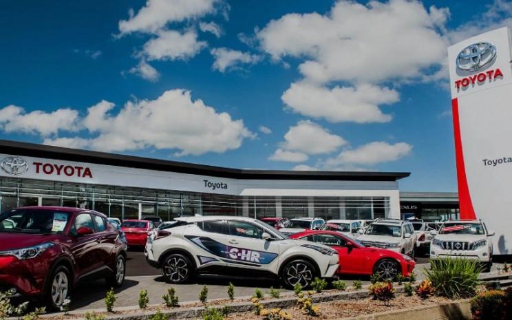 Ilustrasi dealer mobil Toyota  - toyota.com.au