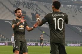 Hasil Liga Europa, Satu Kaki MU & Tottenham Sudah…